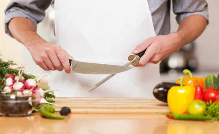 How to sharpen a knife at home