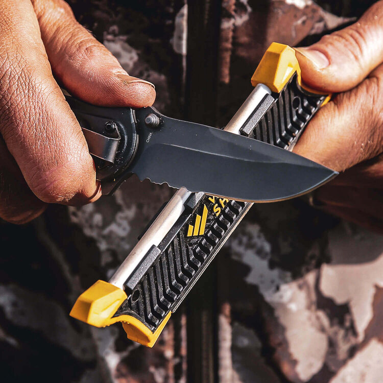 good quality pocket knife sharpener