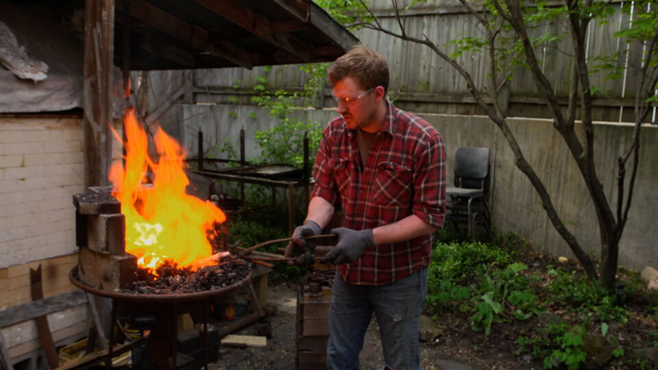heat treating without forge at backyard of the home